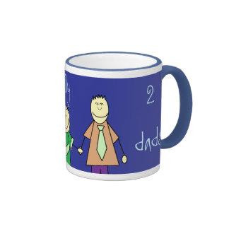 i love my two dads, mugs