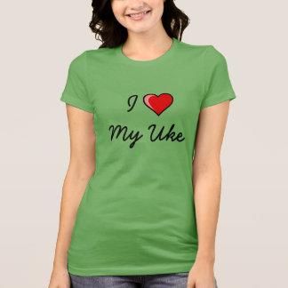 I Love My Uke Tee Shirt
