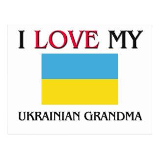 I Love My Ukrainian Grandma Post Cards