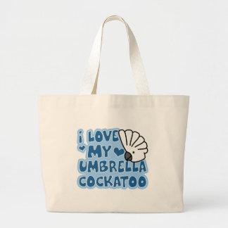 I Love My Umbrella Cockatoo Bag