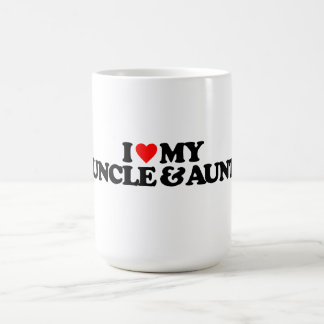 I LOVE MY UNCLE & AUNT CLASSIC WHITE COFFEE MUG
