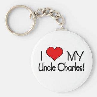 I love My Uncle Charles Keychain