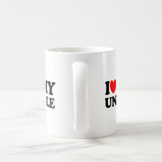 I Love My Uncle Coffee Mug