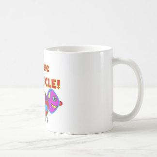 """I love my UNCLE""  Kids T-Shirts/gifts Coffee Mug"