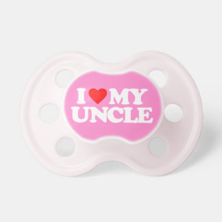 I LOVE MY UNCLE PACIFIER