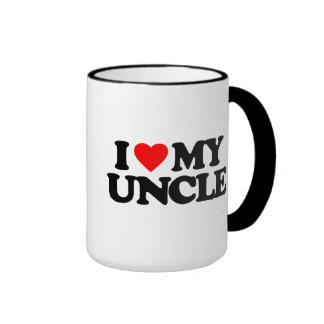 I LOVE MY UNCLE RINGER COFFEE MUG