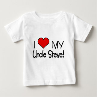 I Love My Uncle Steve Baby T-Shirt