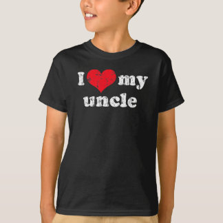 I love my uncle t shirt