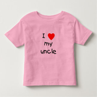 I Love My Uncle T-shirts