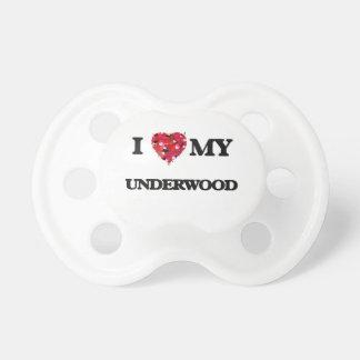 I Love MY Underwood BooginHead Pacifier