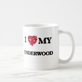 I Love MY Underwood Classic White Coffee Mug