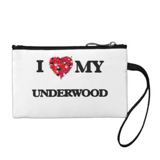 I Love MY Underwood Coin Wallet
