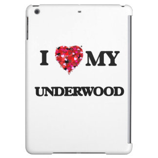 I Love MY Underwood Cover For iPad Air