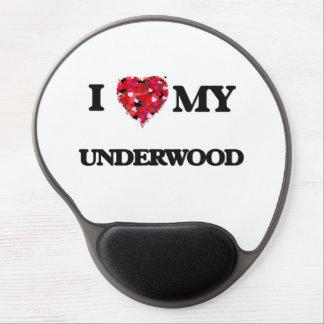 I Love MY Underwood Gel Mouse Pad