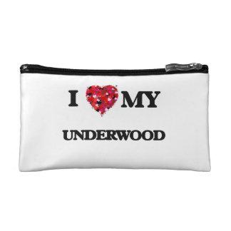 I Love MY Underwood Makeup Bag