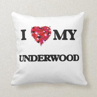 I Love MY Underwood Pillow