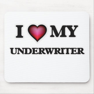 I love my Underwriter Mouse Pad
