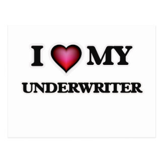 I love my Underwriter Postcard