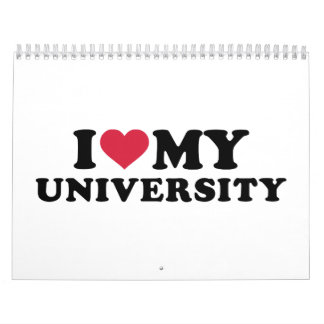 I love my university calendar
