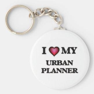 I love my Urban Planner Basic Round Button Keychain
