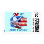 I Love My US Army Fiancee Tshirts and Gifts Postage