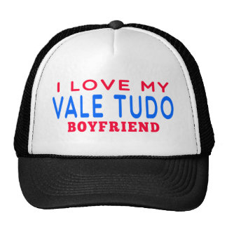 I Love My Vale Tudo Boyfriend Mesh Hat