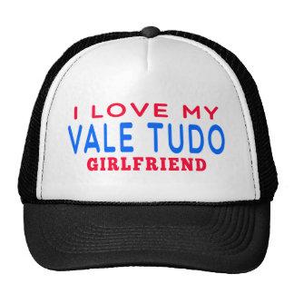 I Love My Vale Tudo Girlfriend Mesh Hats