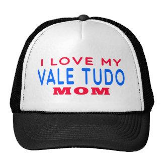 I Love My Vale Tudo Mom Mesh Hat