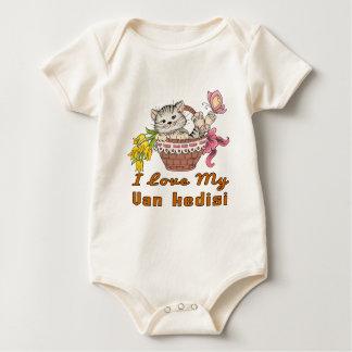 I Love My Van kedisi Baby Bodysuit