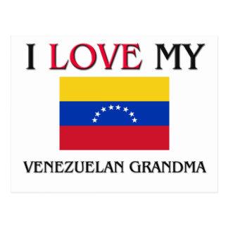 I Love My Venezuelan Grandma Postcard