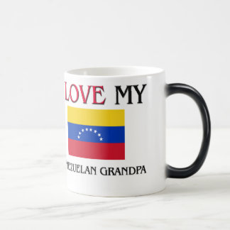 I Love My Venezuelan Grandpa Magic Mug