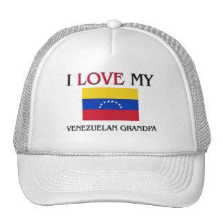 I Love My Venezuelan Grandpa Trucker Hat
