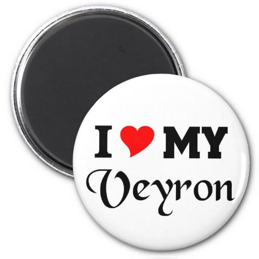 I love my Veyron Magnet