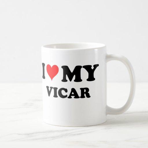 I Love My Vicar Mug