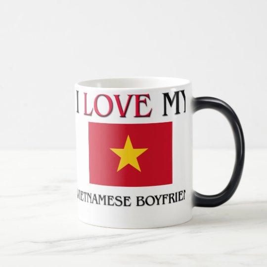 I Love My Vietnamese Boyfriend Magic Mug