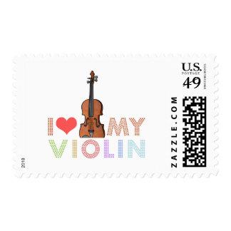 I Love My Violin Postage