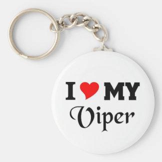 I love my viper key chain