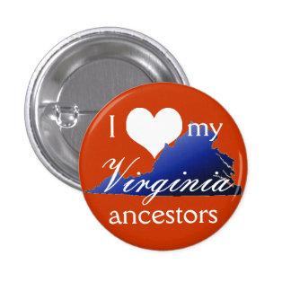I love my Virginia ancestors Button