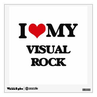 I Love My VISUAL ROCK Room Graphics