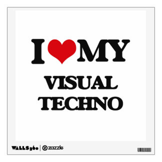 I Love My VISUAL TECHNO Room Graphics