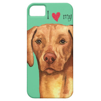 I Love my Vizsla iPhone 5 Cases