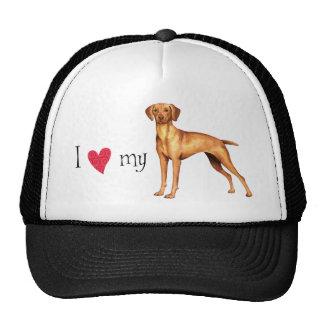 I Love my Vizsla Trucker Hat