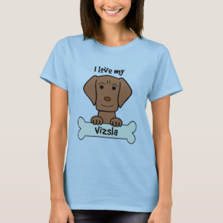 I Love My Vizsla T-Shirt