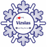 I Love My Vizslas (Multiple Dogs) Photo Cutouts