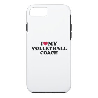 I love my volleyball coach iPhone 8/7 case