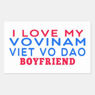 I Love My Vovinam Viet vo Dao Boyfriend Stickers