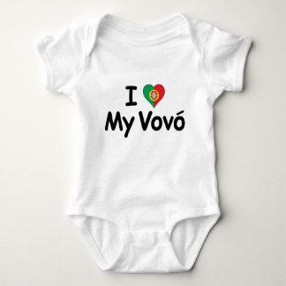 I Love My Vovo (Grandma) Baby Bodysuit
