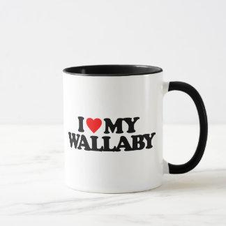 I LOVE MY WALLABY MUG