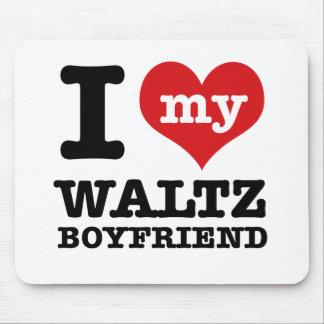 I love my waltz Boyfriend Mouse Pad
