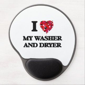 I love My Washer And Dryer Gel Mouse Pad